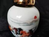 陶瓷茶叶罐密封罐家用存茶罐储存罐瓷罐定制