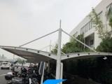上海膜结构车棚厂家 自行车车棚造价 充电桩车棚安装