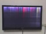 电视图像异常闪电家修