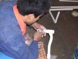 普陀区桃浦排水管旧管拆除水管漏水维修房屋外墙排雨水管