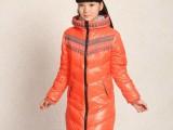 爱尚童品正品儿童羽绒服女中小学生中大童中长款时尚韩版一件代发