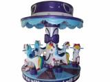 豪华六人转马 6人转马 儿童游乐园旋转木马 童话世界六人转马