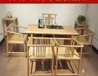 新中式實木茶桌椅白蠟木泡茶桌禪意茶式家具現代免漆功夫茶臺茶幾