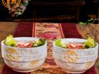 贝玉4只6寸大号吃面碗汤碗陶瓷骨瓷器碗日式大瓷碗韩式米饭碗批发