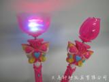 生产闪光玩具系列 荷花闪光音乐风车巴拉拉魔法棒莲花棒玩具1300