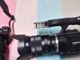 索尼C幅旗舰微单A6500 电动镜头,4K婚礼录像