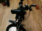 出售自家用九成新美利达勇士山地自行车1000元