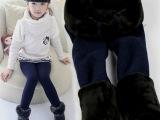 韩版七彩棉加厚一体女童连裤袜打底裤舞蹈袜厂家批发秋冬儿童裤袜