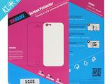 红米手机贴膜高清防刮超薄PET厂家直销正品保护膜高透4.7寸屏保