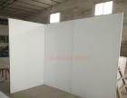温州艺术板墙无缝艺术板墙书画背景展示板隔断板墙亚麻布无缝展板