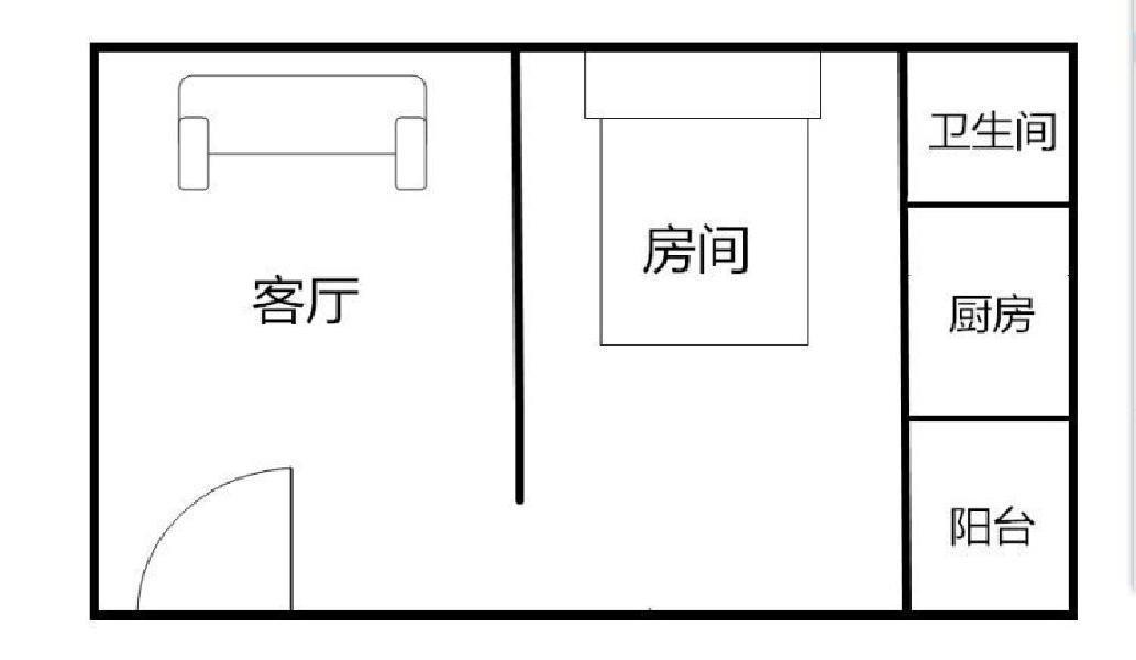 新安1室创业一村空房出租创业一村