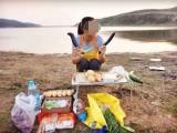 青山周邊學校企業團建燒烤食材配送帳篷出租