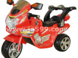 红色儿童电动摩托车 红色儿童电动三轮车