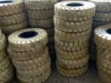 环保实心叉车轮胎200/50-10 OB503标准白色实心