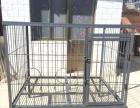 超大型狗笼角钢狗笼钢筋狗笼狗场专用笼室外狗笼