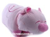 毛绒玩具,玩偶,吉祥物可爱两用 毛绒猪 抱枕