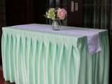 北京餐厅提花凤尾花台布桌布口布加工定做