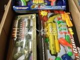 杂款枪类玩具库存积压 称斤批发论斤卖 片枪 软弹枪 【枪类玩具】