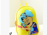 光头强儿童蛋壳书包儿童硬壳双肩背包卡通幼儿园小学生创意书包
