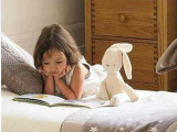 英国贵族mamasamppapas兔子玩偶婴儿安抚玩具外贸原单毛