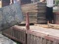 回收旧方木 旧模板 废铁