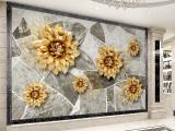 安华装饰材料城背景墙 风格多样