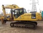 贵阳二手挖掘机出售:二手小松200-7和220和350挖掘机