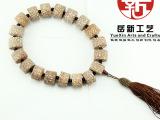 厂家供应越南血丝金线菩提子提珠 桶形金线菩提子佛珠 21MM