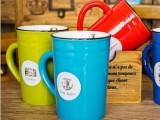 创意zakka杯子批发 糖果色复古陶瓷马克杯牛奶咖啡杯 水杯