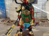河南云峰佛像厂家供应五路财神佛像摆件树脂彩绘佛像批发