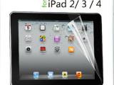 ipad4贴膜 ipad2保护膜批发 ipad3高清贴膜 苹果平