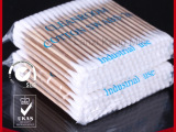 75MM厂家直销100支双头木棒净化工业擦拭棉签棒