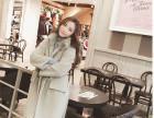 内蒙古哪有冬季女装棉服批发网上哪里批发冬装中长款呢子大衣便宜
