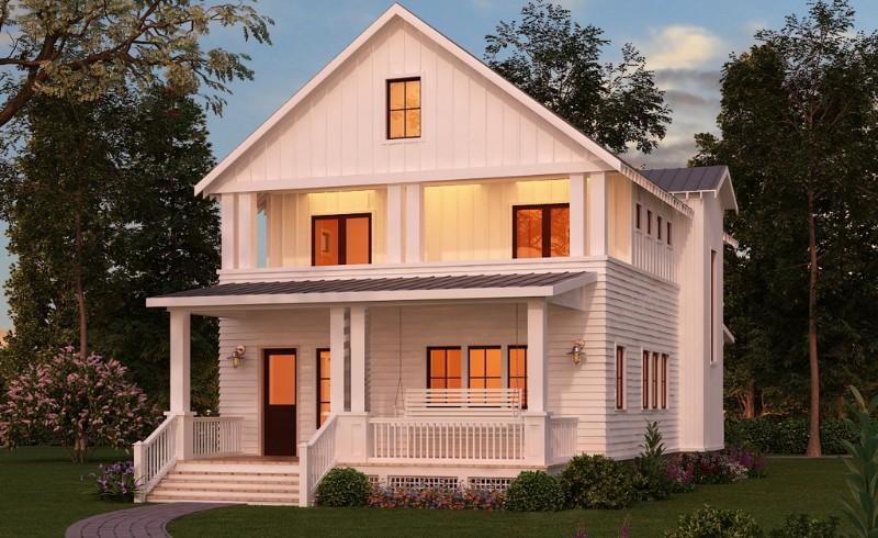 轻钢别墅-轻钢结构集成房屋装配式建筑生产厂家