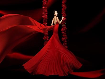 女神范的婚纱照