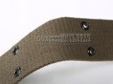 批发07编织外腰带 迷彩作训服编织外腰带 户外训练战术帆布腰带