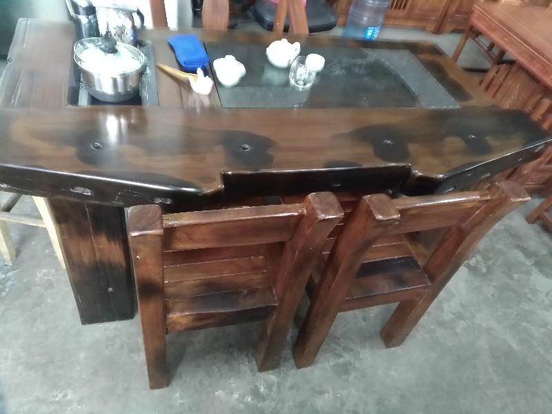 珠海专业回收实木古典 欧式家具 实木茶台 博古架 工艺品屏风