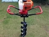 四冲程拖拉机带动汽油挖坑机 小型汽油植树挖坑机厂家