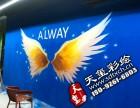 天玺彩绘墙绘手绘文化墙幼儿园3D画