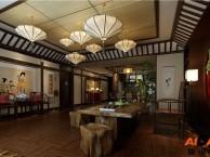 重庆茶楼中式装修丨茶楼装修效果图丨茶餐厅装修丨餐馆设计