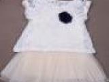 三色两件套连衣裙 蕾丝女式儿童短袖连衣裙 新款特别上市 女童连