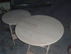 茶桌折叠桌小方桌实木圆桌松木简约棋牌桌儿