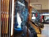 激光内雕玻璃 发光网红店玻璃