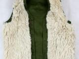 87羊毛马甲 保暖护心背心 羊皮马甲中老年冬季保暖防寒毛坎肩