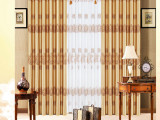 提供优质环保双面印花遮光布 定制各种窗帘布料厂价直销