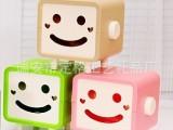 定格正品创意卡通方形笑脸纸巾抽纸  多色纸巾抽 纸巾筒 纸巾盒