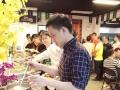 生日派对茶歇水果雕刻 自助餐婚庆围餐 冷餐会年会