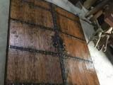 特价松木复古平开门 古建木门 老榆木室外大门