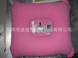 厂家定做标准18丝PVC植绒充气元宝枕