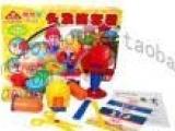 培培乐彩泥3909头发筒套装儿童无毒橡皮泥带模具正品玩具3D